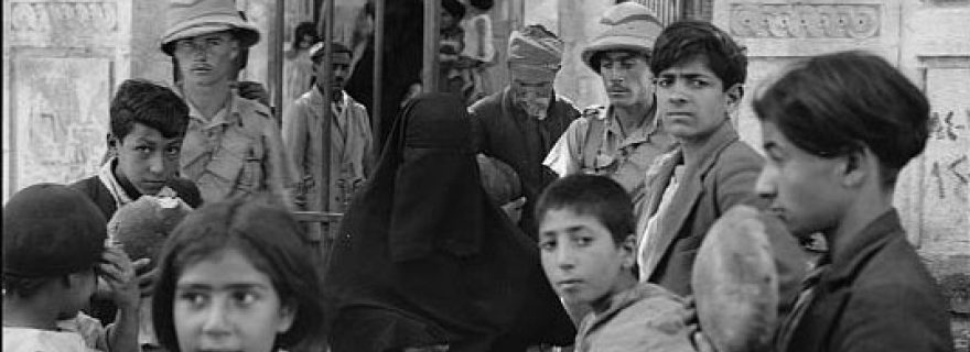 Relief and Welfare in Jerusalem, 1900-1948