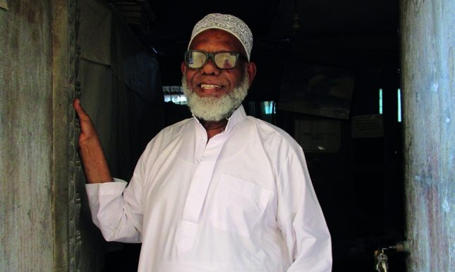 Portrait Mahmoud Mau